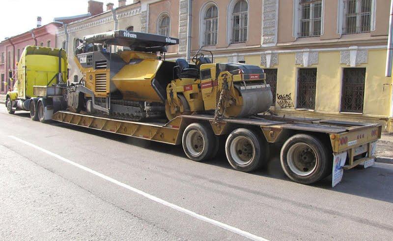 Перевозка спецтехники, транспорт для перевозки агротехники