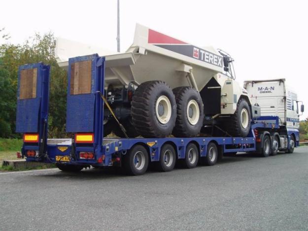 Транспорт для перевозки спец.техники.Типы полуприцепов для перевозки спецтехники